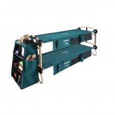 Cot - Large Cam-O-Bunk Loaded- Includes 2 Organizers Leg Extensions + 2 Cabinets