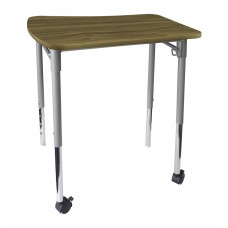 Cs Neomove Collaboration Desk With Casters - 25X26X27 Laminate Top