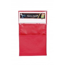 Organizer Hand-E-Sack 6.25 X 10 In Red