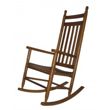 Chair Rocker Adult Assembled Med Oak Finish