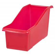 Storage Book Bins Connecting Red
