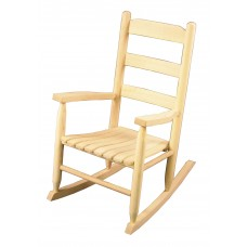 Chair Youth Rocker Natural Finish