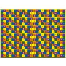 Abc123'S 6' x 12' Rectangle Carpet