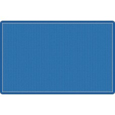 """All Over Weave Blue 10'9"""" X 13'2"""" Rectangle Carpet"""