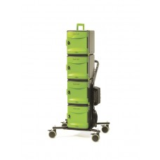 Tech Tub2® Stacking Cart with USB - holds 24 Devices