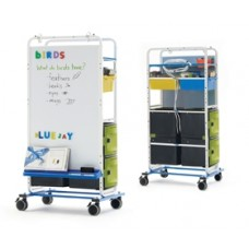 Tech Tub2® Dual Duty Teaching Easel - holds 20 devices