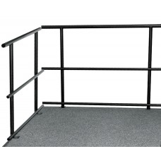 "48""W Guard Rails for Stages"