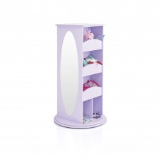 Rotating Dress Up Storage Center - Lavender