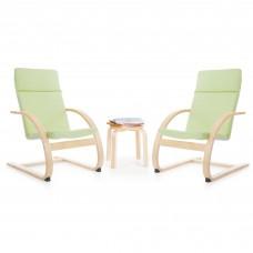 Kiddie Rocker Chair Set - Light Green