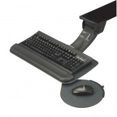 Myriad Junior Keyboard & Swivel Mouse Tray with FastAction Sit/Stand