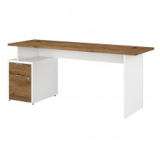 Bush Business Furniture Jamestown 72W Desk with 2 Drawers