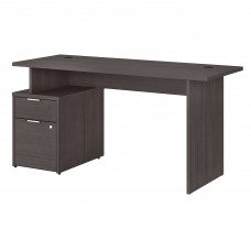 Bush Business Furniture Jamestown 60W Desk with 2 Drawers
