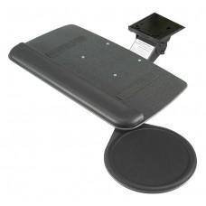 Myriad Junior Keyboard & Swivel Mouse Tray with Value Swivel Arm