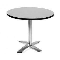 "36"" Round Folding Multi-Purpose Table, Gray Nebula"
