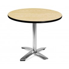 "36"" Round Folding Multi-Purpose Table, Oak"