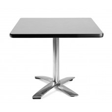 "36"" Square Folding Multi-Purpose Table, Gray Nebula"