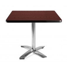 "36"" Square Folding Multi-Purpose Table, Mahogany"