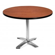 "42"" Round Folding Multi-Purpose Table, Cherry"
