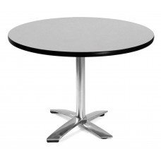"42"" Round Folding Multi-Purpose Table, Gray Nebula"
