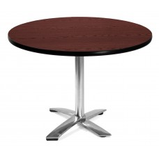 "42"" Round Folding Multi-Purpose Table, Mahogany"