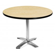 "42"" Round Folding Multi-Purpose Table, Oak"