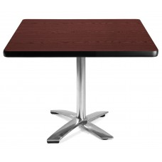 "42"" Square Folding Multi-Purpose Table, Mahogany"