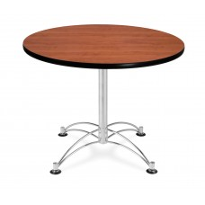 "OFM Round Multi-Purpose Table, 36"", Cherry"