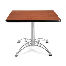 "OFM Square Multi-Purpose Table, 36"", Cherry"