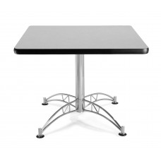 "OFM Square Multi-Purpose Table, 36"", Gray Nebula"