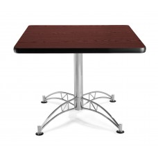 "OFM Square Multi-Purpose Table, 36"", Mahogany"