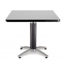 "OFM Square Multi-Purpose Mesh Base Table, 36"", Gray Nebula"