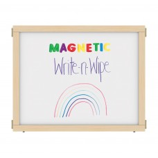 """KYDZ Suite® Panel - E-height - 36"""" Wide - Magnetic Write-n-Wipe"""