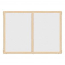 """KYDZ Suite® Panel - A-height - 48"""" Wide - See-Thru"""