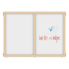 """KYDZ Suite® Panel - A-height - 48"""" Wide - Write-n-Wipe"""