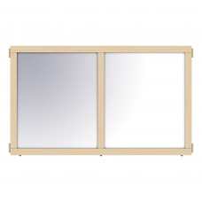 """KYDZ Suite® Panel - E-height - 48"""" Wide - Mirror"""