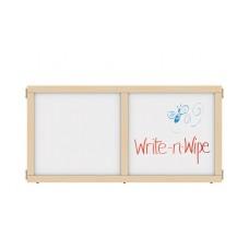 "KYDZ Suite® Panel - T-height - 48"" Wide - Write-n-Wipe"