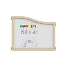 """KYDZ Suite® Cascade Panel - E to T-height - 36"""" Wide - Magnetic Write-n-Wipe"""