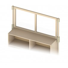 KYDZ Suite® Upper Deck Divider - See-Thru