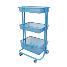 Luxor Kitchen Utility Cart - Blue