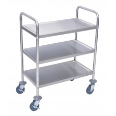Luxor Stainless Steel Cart 3 Shelves
