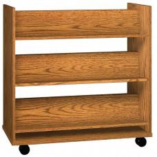 Book Truck - 6 Shelves