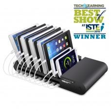 10 Port USB Charging Station