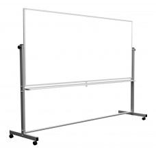 Luxor Reversible Magnetic Mobile 96x40 Whiteboard/ Whiteboard