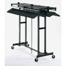 Mobile Folding Coat Rack (72 Capacity)