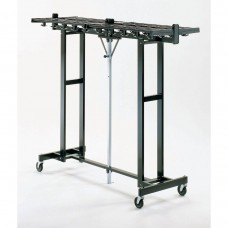 Mobile Folding Coat Rack (120 Capacity)