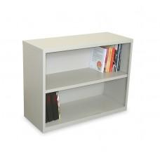 Ensemble Two Shelf Bookcase, 36W x 14D x 27H - Featherstone Finish