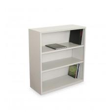Ensemble Three Shelf Bookcase, 36W x 14D x 27H - Featherstone Finish
