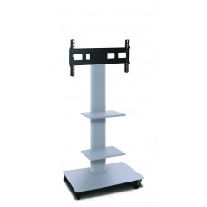 """Marvel Vizion TV/Monitor Stand and Mount with Two Shelves (holds 35"""" - 55"""" TV)"""