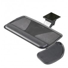 Myriad Keyboard & Mouse Tray with Value Swivel Arm