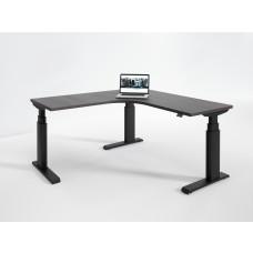 Elegante Electric Height Adjustable L Shape Table